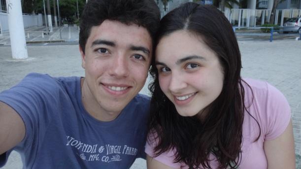 Eric e Deise estão noivos e são Jovens Líderes em Diabetes